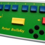 Braille Keyboard | BrailleKey G0/1, G2, UEB & SH
