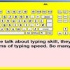 Portset Typing Tutor for Visually Impaired