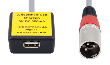 Wheelchair-USB-Charger