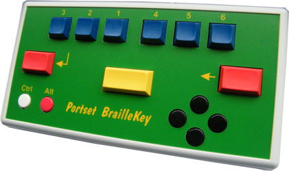 BrailleKey