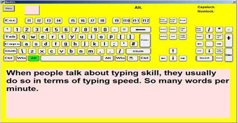 Typing Tutor | Learning Tool for Visually Impaired